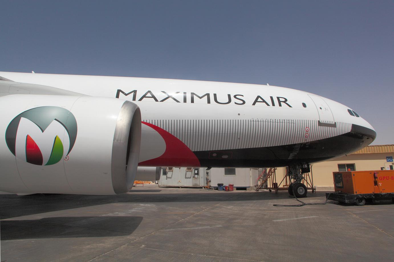 MAXIMUS AIR / AIRBUS A300 600 RP2F / LIVERY by DIDIER WOLFF / HAPPY DESIGN STUDIO