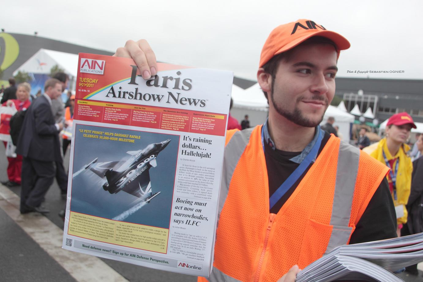 PARIS AIR SHOW NEWS / Photo Sébastien Ognier