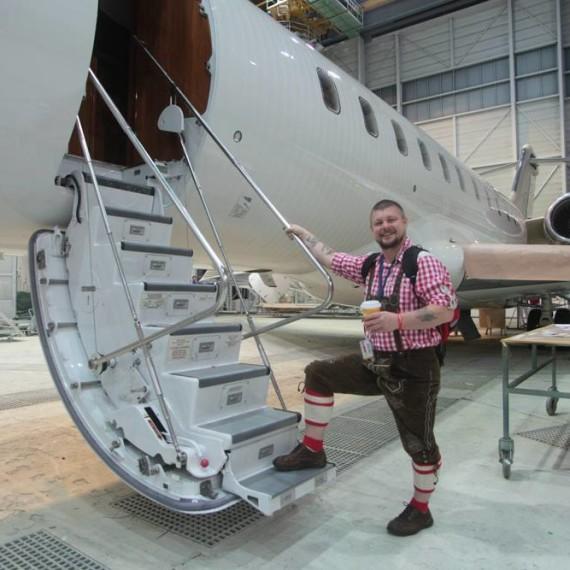 Our Friend Mark Mcghin / RUAG AEROSPACE