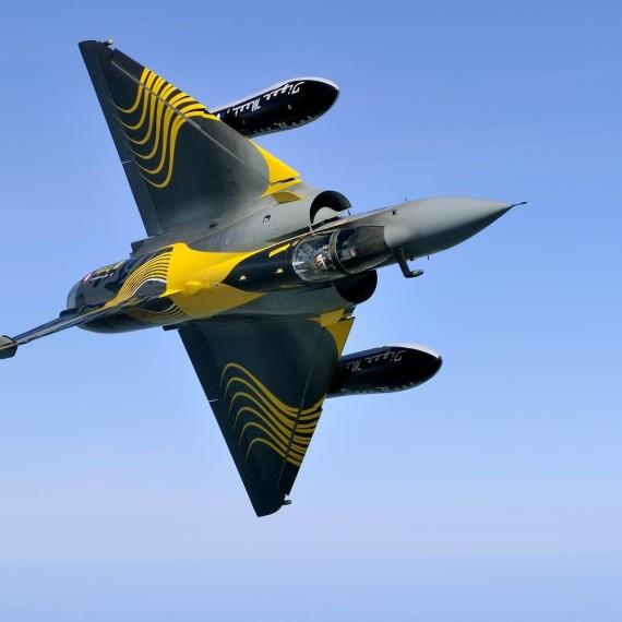 Mirage 2000c Tiger by Happy Design Studio / Photo Katsuhiko Tukunaga