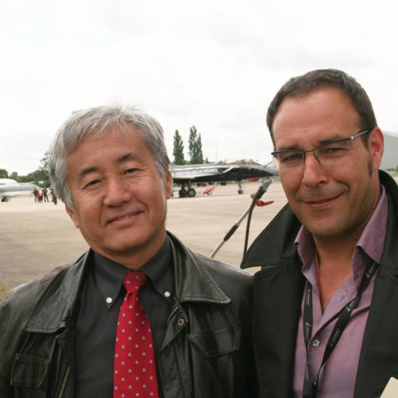 Our friend Katsuhiko TUKUNAGA / Paris Air Show / Le Bourget 2011