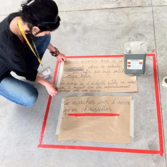 Rachel Gervasoni / Rafale 30.000 HOURS / Painting supervision / BA 113 SAINT DIZIER