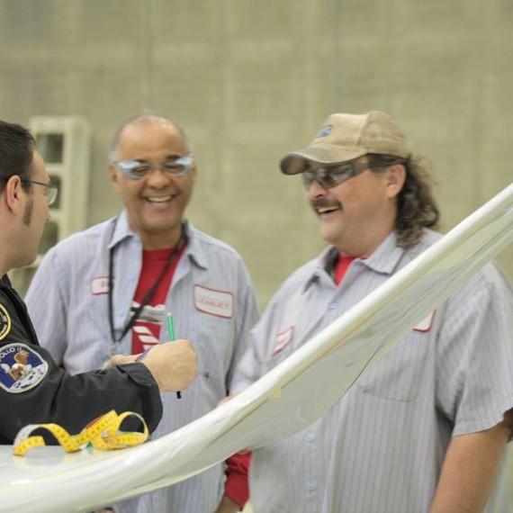 Our friends Gregg Bradey & Lauren Miller / Bombardier Learjet 75 Painting Process / Wichita / Kansas