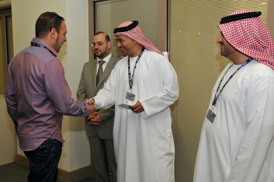 (Fr) With Mr Ali Ahmed Al Naqbi / Founding Chairman of MEBAA