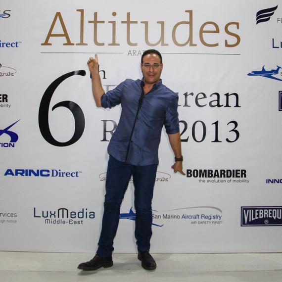 Altitudes Party / DUBAI AIR SHOW 2013