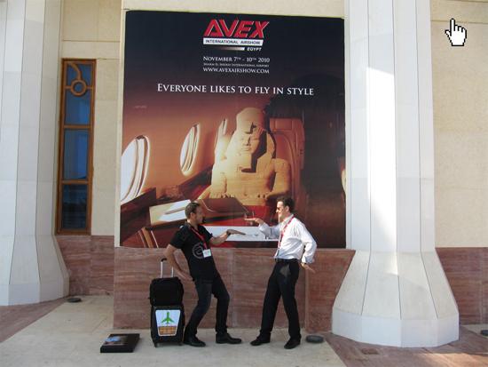 AVEX International Airshow in Egypt