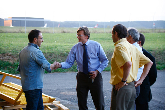 With Nicolas Chabbert, Senior Vice President Airplane Division / DAHER-SOCATA