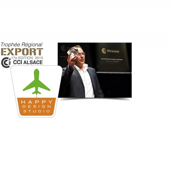 Trophée Export CCI ALSACE 2013 : Happy Design Studio !
