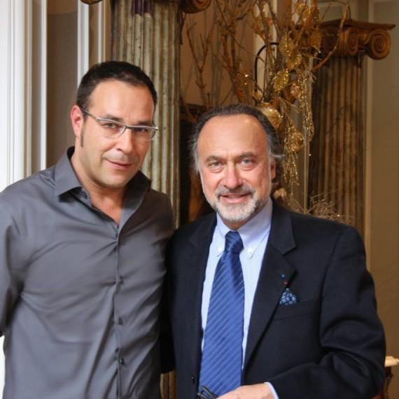 Avec Olivier DASSAULT / 2010