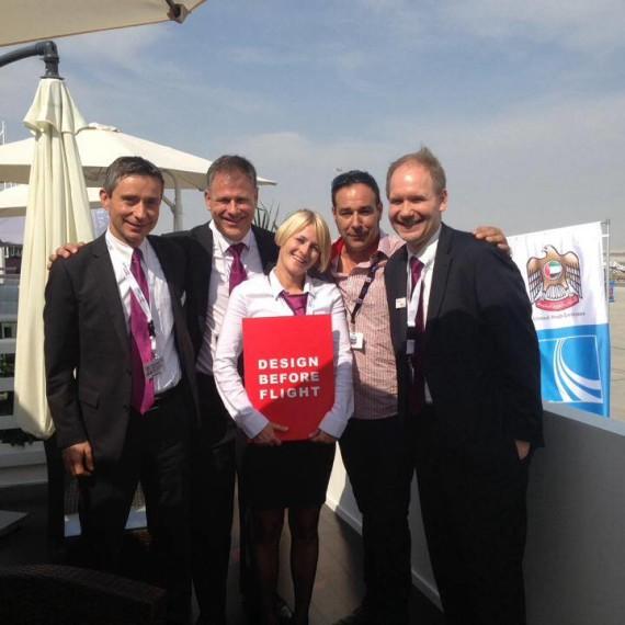 With RUAG Team in Dubai