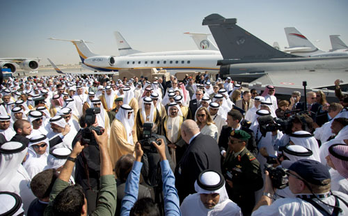Opening of The Dubai Airshow 2009