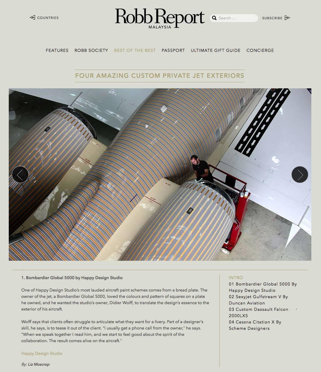 THE INTERNATIONAL YACHT & AVIATION AWARDS WINNER 2014 / Didier WOLFF / HAPPY DESIGN STUDIO
