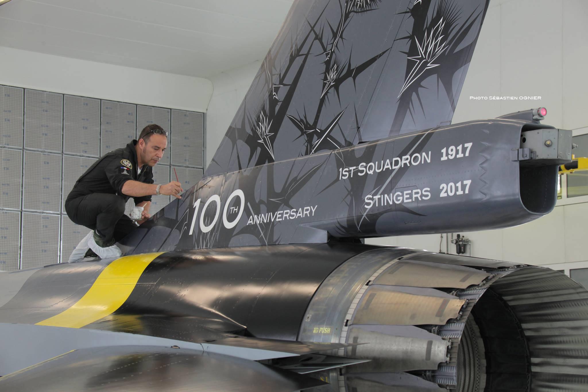 "F16 ""BLACKBIRD"" 1st SQUADRON STINGERS"